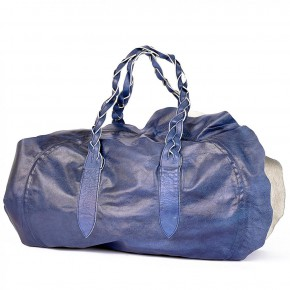bag uncut blue