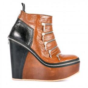 set short ankle full zip