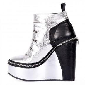 set short ankle full zip si