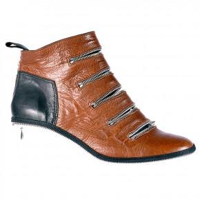upper short ankle full zip